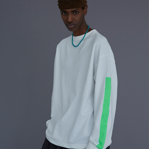 【LE`2】BISCITTO LONG-SLEEVE WHITE レトゥ ビスコットロングスリーブ ホワイト
