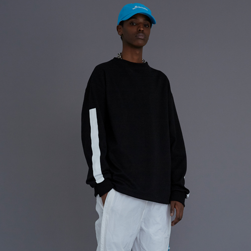 【LE`2】BISCITTO LONG-SLEEVE BLACK レトゥ ビスコットロングスリーブ ブラック